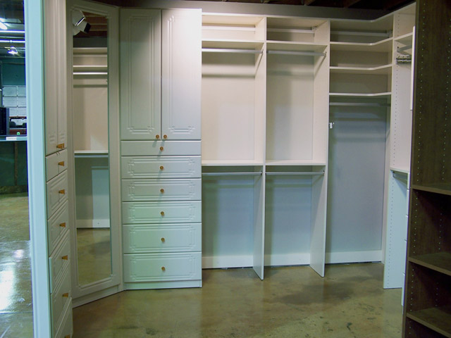 Antique White Finish For Your Closets To Go Closet Pantry Desk Or Other