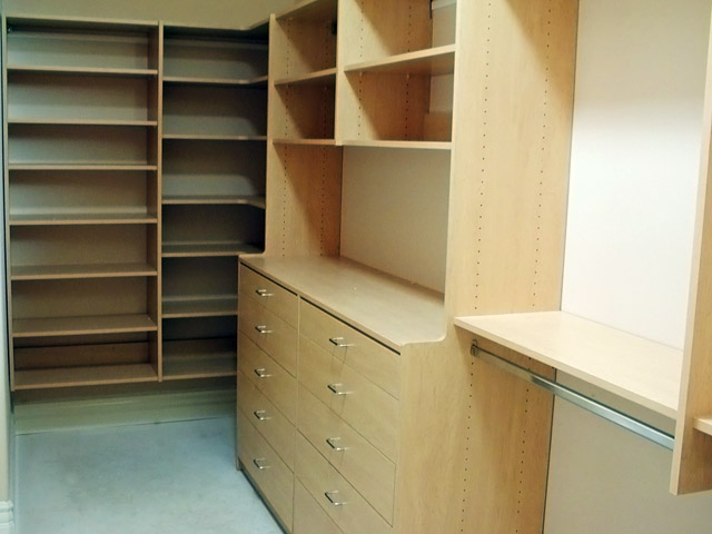 Maple Finish For Your Closets To Go Closet Pantry Desk Or Other Organizer