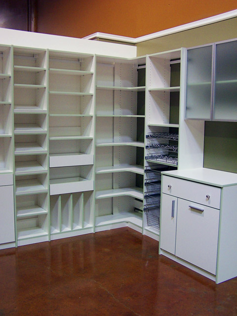 White Finish For Your Closets To Go Closet Pantry Desk Or Other Organizer